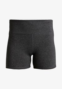 Cotton On Body - HIGHWAISTED SHORT - Collants - charcoal marle - 3