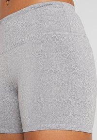 Cotton On Body - HIGHWAISTED SHORT - Leggings - mid grey marle - 4