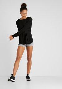 Cotton On Body - HIGHWAISTED SHORT - Leggings - mid grey marle - 1