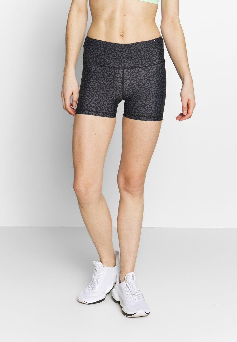 Cotton On Body - HIGHWAISTED SHORT - Punčochy - grey