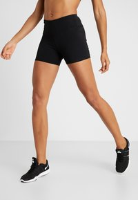 Cotton On Body - HIGHWAISTED SHORT - Tights - black - 0