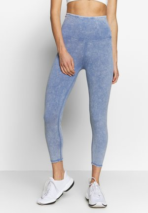 7/8 LEGGINGS - Punčochy - ultra marine wash