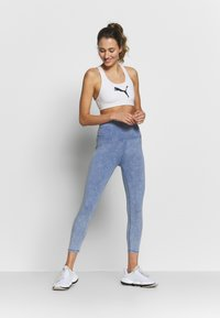 Cotton On Body - 7/8 LEGGINGS - Legging - ultra marine wash - 1