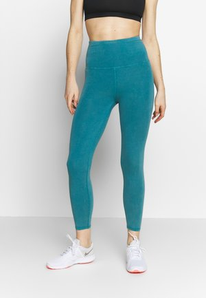 7/8 LEGGINGS - Punčochy - mineral teal wash