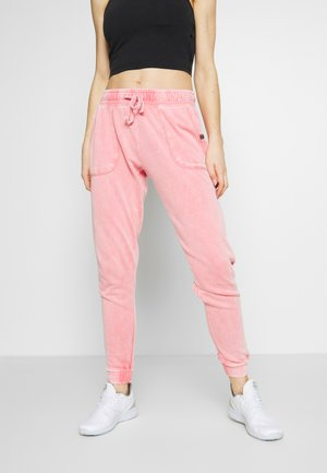 WASHED GYM TRACKPANT - Träningsbyxor - pink wash