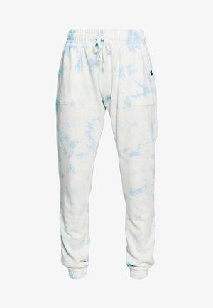 WASHED GYM TRACKPANT - Pantalon de survêtement - blue tie dye
