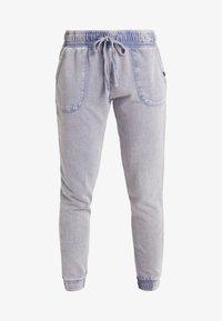 Cotton On Body - WASHED GYM TRACKPANT - Teplákové kalhoty - ultra marine - 3