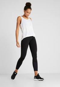 Cotton On Body - LINED - Punčochy - black marle splice - 1