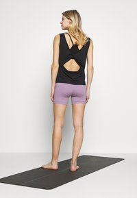 Cotton On Body - SO SOFT SHORT - Tights - concrete marle/faded grape marle - 2