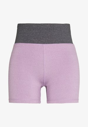 SO SOFT SHORT - Trikoot - concrete marle/faded grape marle