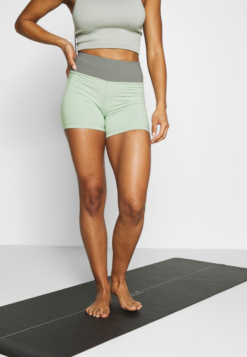 Cotton On Body - SO SOFT SHORT - Medias - watercrest marle/aloe marle