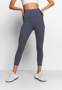 Cotton On Body - POCKET 7/8 - Tights - storm blue/navy - 0