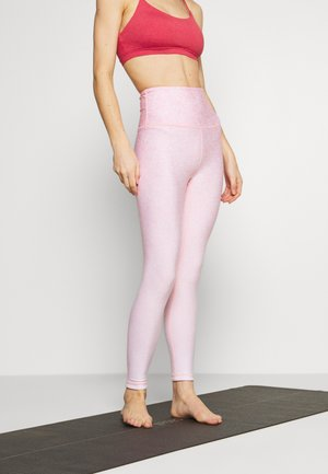 REVERSIBLE 7/8 - Tights - peony pink