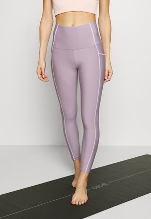 CONTOUR - Legging - faded grape marl