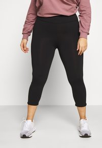 Cotton On Body - CURVE ACTIVE HIGHWAIST CORE - Leggings - black - 0