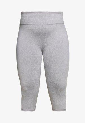 CURVE ACTIVE CORE CAPRI - 3/4 sportovní kalhoty - mid grey marle