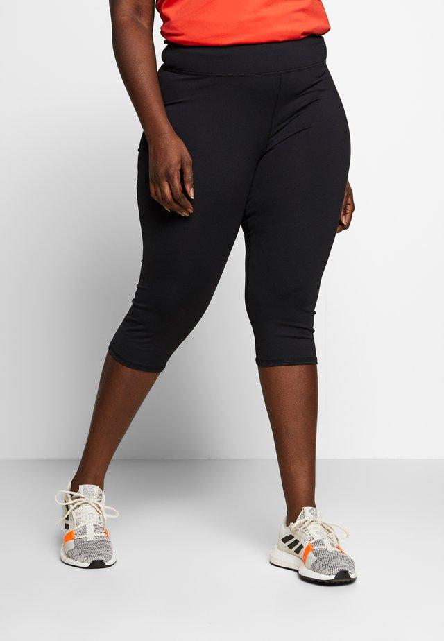 CURVE ACTIVE CORE CAPRI - 3/4 sports trousers - black