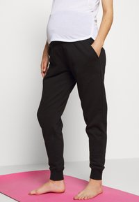 Cotton On Body - MATERNITY GYM TRACKIE - Tracksuit bottoms - black - 0