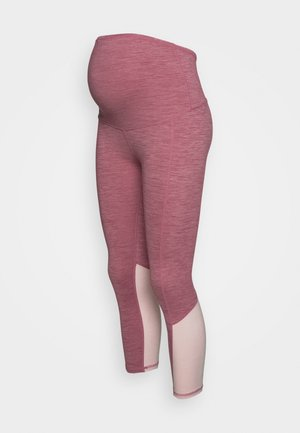 MATERNITY SO SOFT - Leggings - washed rose