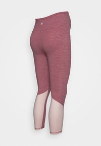 Cotton On Body - MATERNITY SO SOFT - Leggings - washed rose - 1
