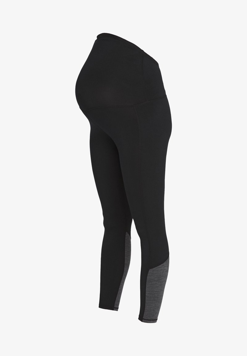 Cotton On Body - MATERNITY SO SOFT - Leggings - black marle splice