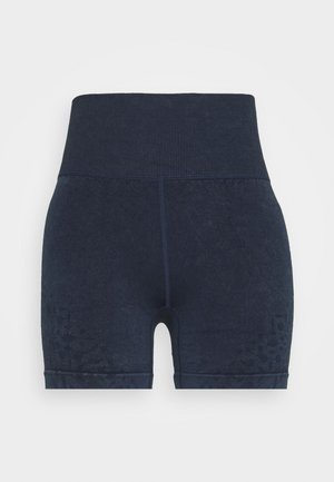 CROCHET SEAMFREE SHORT - Medias - washed navy