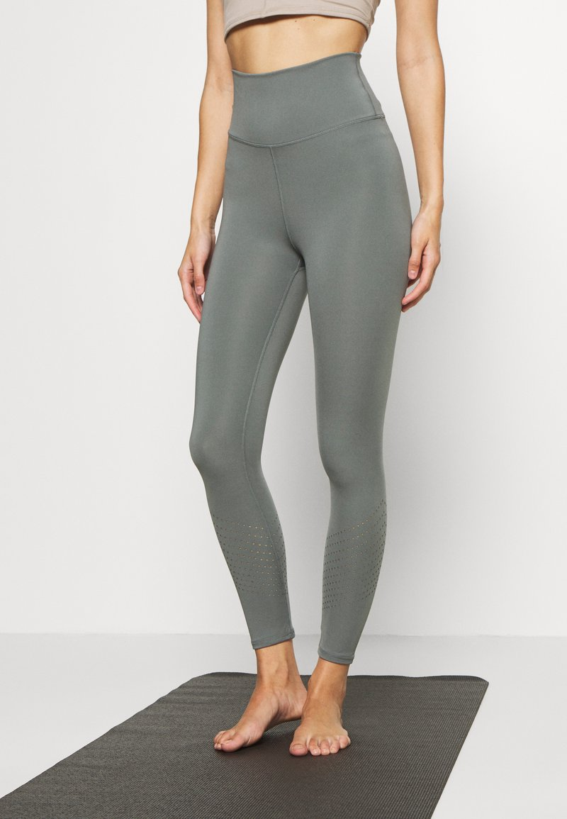 Cotton On Body - LIFESTYLE 7/8 - Legging - oil green laser