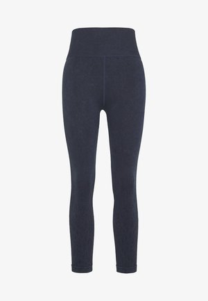CROCHET SEAMFREE 7/8 - Legging - washed navy