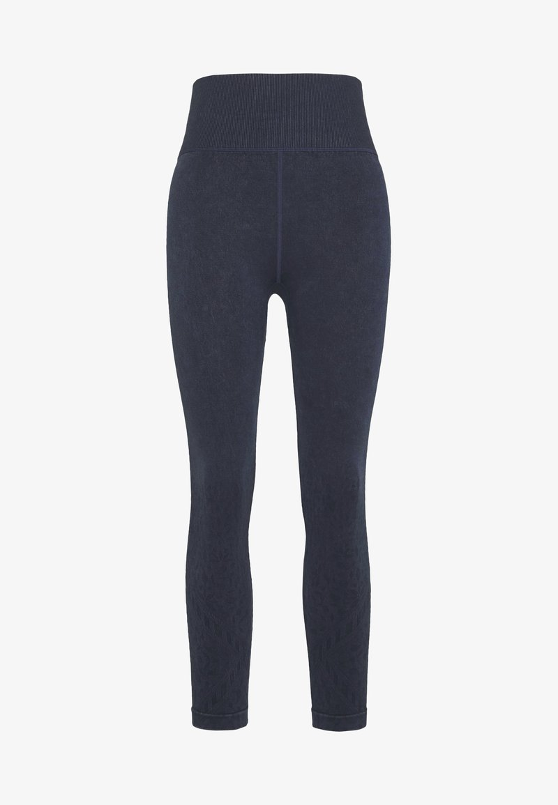 Cotton On Body - CROCHET SEAMFREE 7/8 - Legging - washed navy