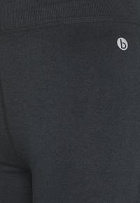 Cotton On Body - CROCHET SEAMFREE 7/8 - Legginsy - washed black - 2