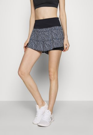 HIGHWAIST RUNNING SHORT - Korte broeken - navy