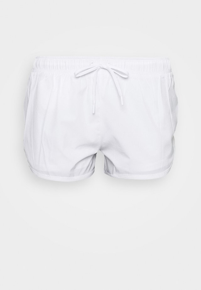 MOVE JOGGER SHORT - Sportovní kraťasy - white