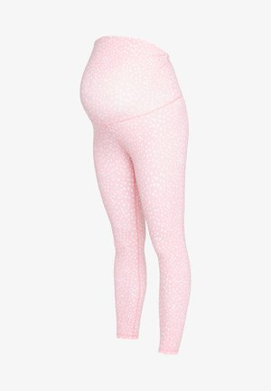 MATERNITY LIFESTYLE 7/8 - Tights - peony pink
