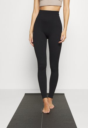 LIFESTYLE SEAMLESS - Leggings - black