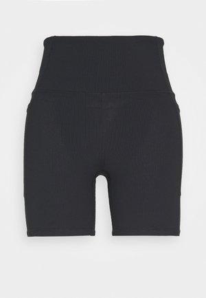POCKET BIKE SHORT - Leggings - black