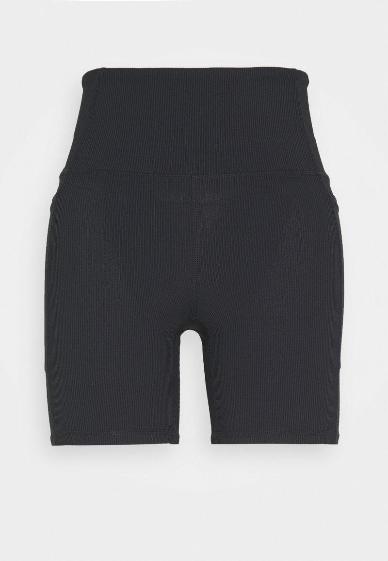 Cotton On Body - POCKET BIKE SHORT - Leggings - black