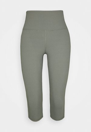 WORKOUT CAPRI - 3/4 sportbroek - steely shadow