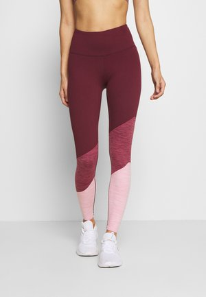 SO SOFT - Leggings - mulberry marle splice