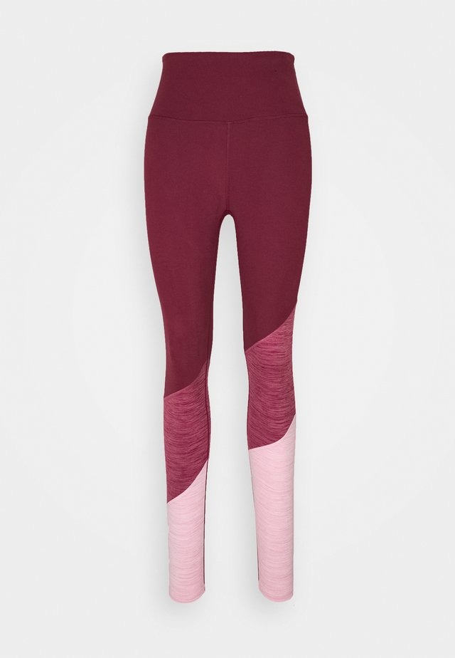 SO SOFT - Tights - mulberry marle splice