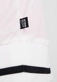 Cotton On Body - DROPPED SHOULDER SHEER JACKET - Trainingsjacke - white/black - 5