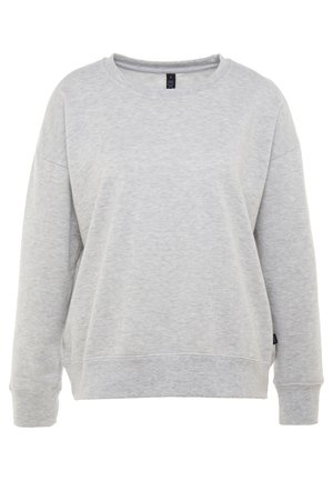 LONG SLEEVE CREW - Mikina - grey marle