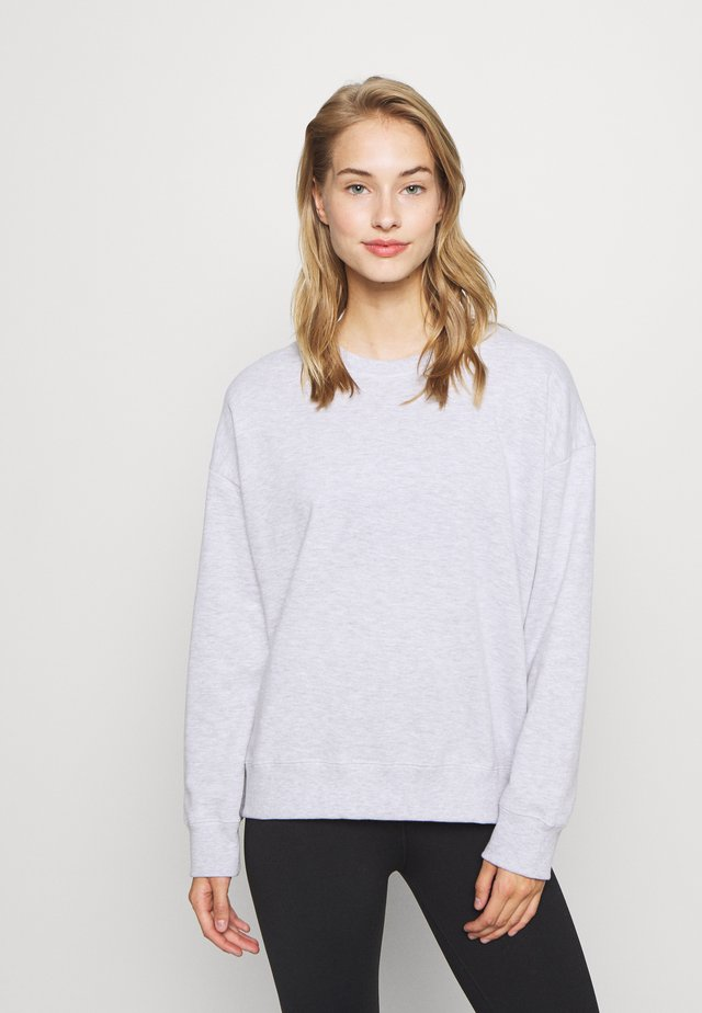 LONG SLEEVE CREW - Collegepaita - winter grey marle