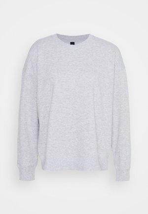 LONG SLEEVE CREW - Sweatshirt - winter grey marle