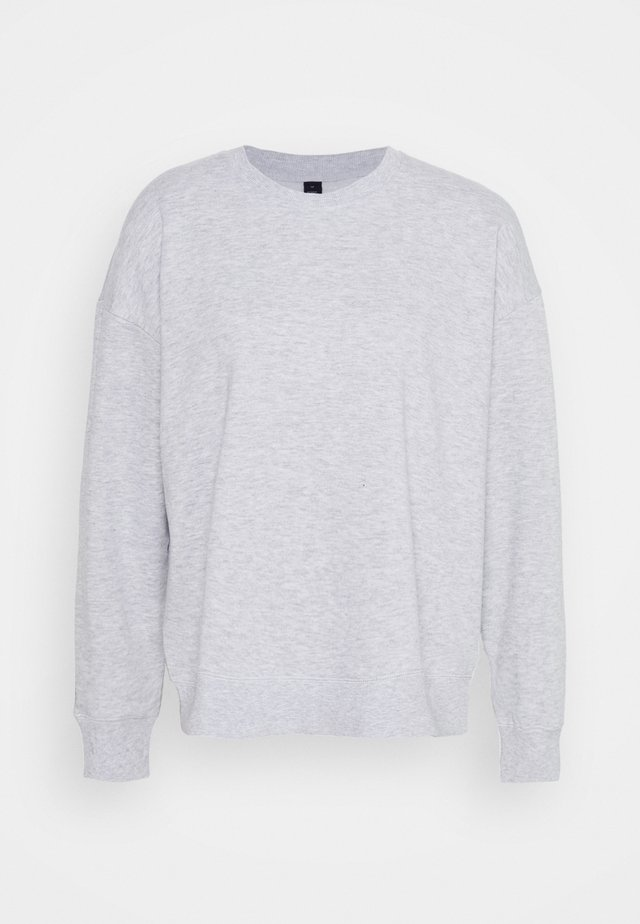 LONG SLEEVE CREW - Sweatshirt - winter grey marle