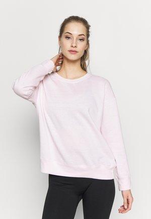 LONG SLEEVE CREW - Sweatshirt - pink sherbet