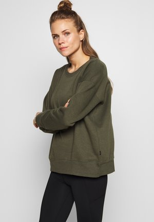 LONG SLEEVE CREW - Sweatshirt - winter khaki