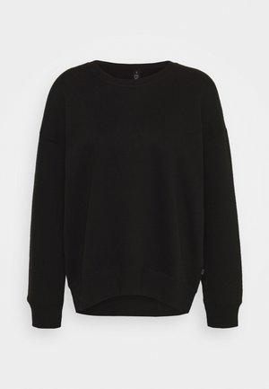 LONG SLEEVE CREW - Sudadera - winter black