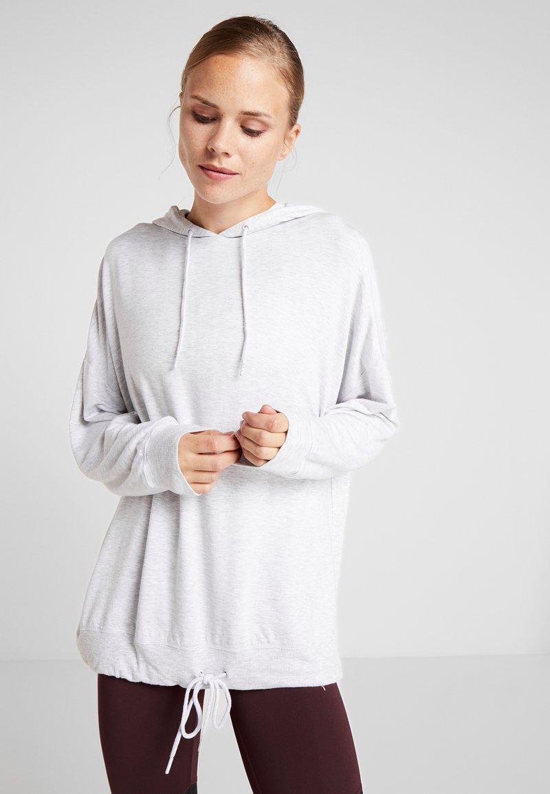 Cotton On Body - LONG LINE SPRING HOODIE - Kapuzenpullover - grey marle