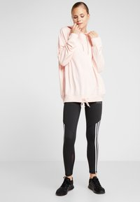 Cotton On Body - LONG LINE SPRING HOODIE - Mikina skapucí - cloudy pink - 1