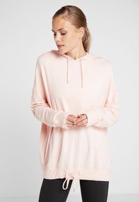Cotton On Body - LONG LINE SPRING HOODIE - Mikina skapucí - cloudy pink - 0